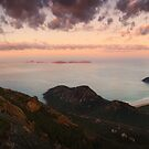 Morning view from Mount Oberon - Wilsons Promontory by Mark Shean