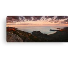 Morning view from Mount Oberon - Wilsons Promontory Canvas Print