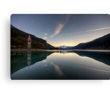 Panoramic Mirror Canvas Print