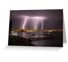 """Thunder Struck"" Greeting Card"