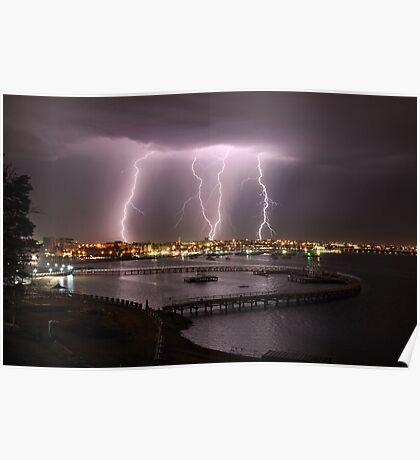 """""""Thunder Struck"""" Poster"""