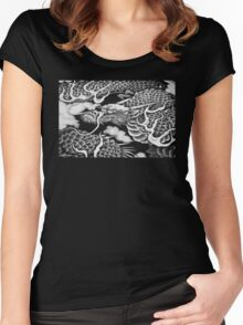 Ancient Dragon Art Women's Fitted Scoop T-Shirt