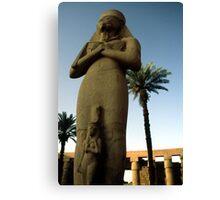Ramesses II & Bent'anta Canvas Print