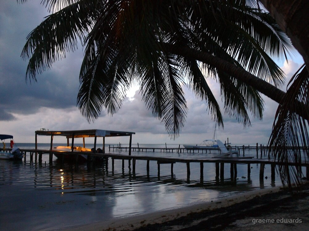 A Belize Dawn-Central America by graeme edwards
