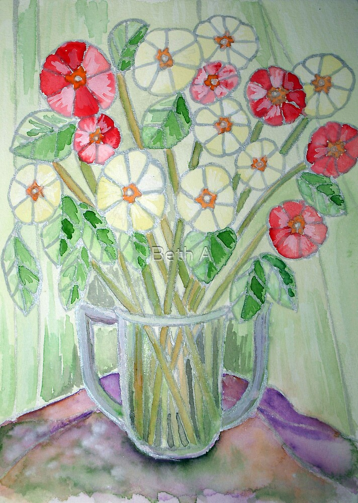 Churchill's Flowers by Beth A