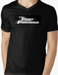 The Fast and the Furiosa Mens V-Neck T-Shirt