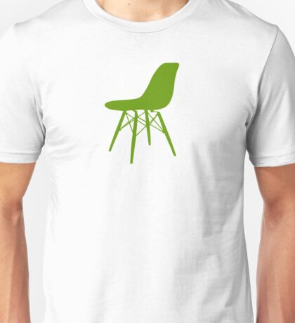 Eames Eiffel Plastic Side Chair Unisex T-Shirt