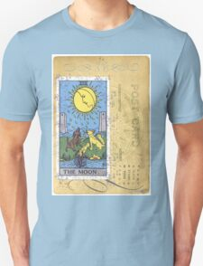 The Blue Moon Tarot Card Fortune Teller Unisex T-Shirt