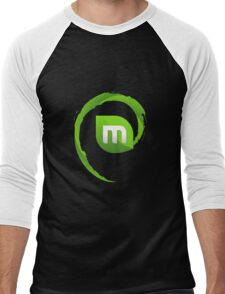 Linux Mint Ultimate Men's Baseball ¾ T-Shirt