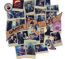 Gamer 4 Life by mahalitta