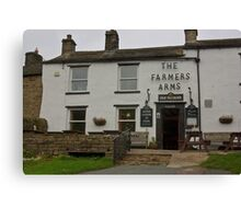 The Farmers Arms - Muker Canvas Print