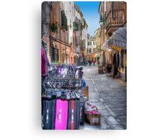 Rapallo alley Canvas Print