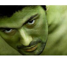Hulk Hogan Mutation Effect Photographic Print