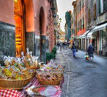 Rapallo alley by oreundici