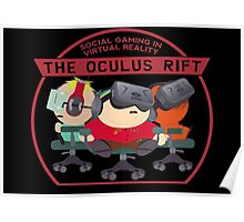 Social Gaming Oculus Rift Virtual Reality South Park Poster
