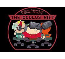 Social Gaming Oculus Rift Virtual Reality South Park Photographic Print