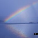 Isle of Mull Rainbow by Mike Paget