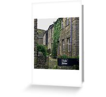 Cottages - Muker Greeting Card