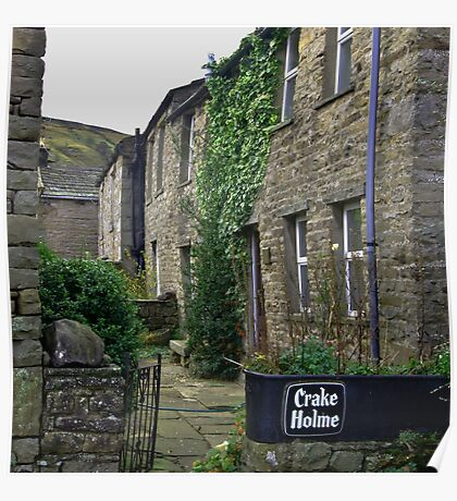 Cottages - Muker Poster
