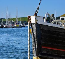 Fishing Boat Bow by iknowme