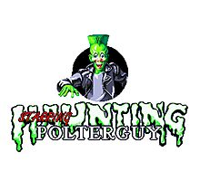 Haunting Starring Polterguy Photographic Print