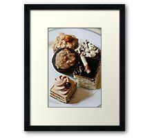 Chocolate Goodies Boston Bar Framed Print