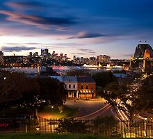 Sydney Skyline From Observatory Park by MiImages