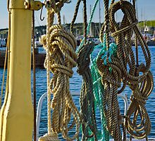 Ropes on Deck by iknowme