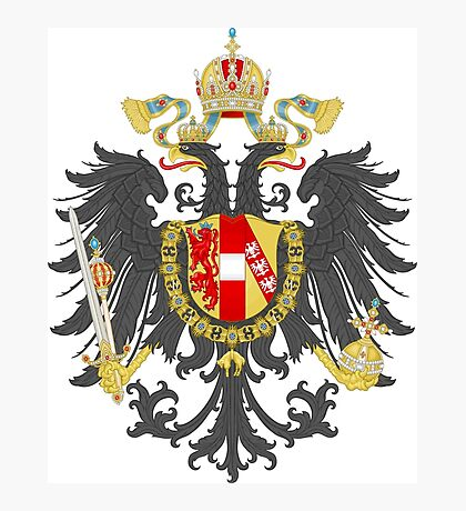 Imperial Coat of Arms of the Austrian Empire Photographic Print