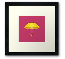 How I Met Your Mother - The Yellow Umbrella Framed Print