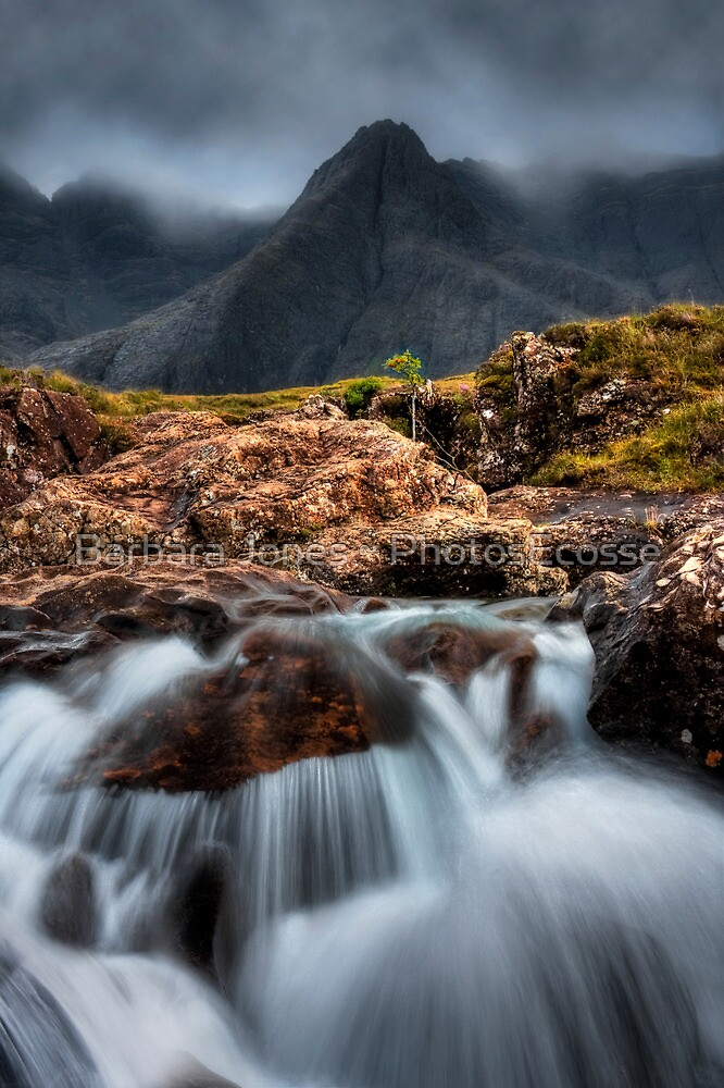 The Faerie Pools, Isle of Skye, Scotland. by photosecosse /barbara jones