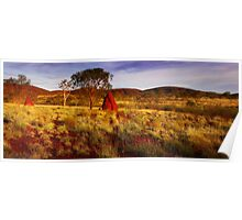 Morning Light on the Pilbara - Western Australia Poster
