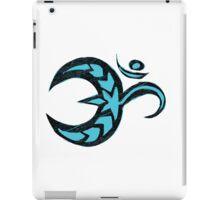 Om - Teal Sketch iPad Case/Skin