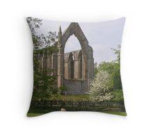 Bolton Abbey -summertime Throw Pillow