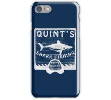 Quints Shark Fishing iPhone Case/Skin