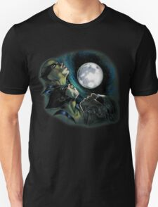 Three Wolverine Moon T-Shirt