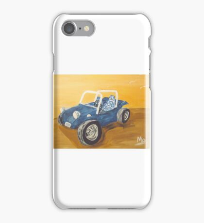 blue dune buggy iPhone Case/Skin