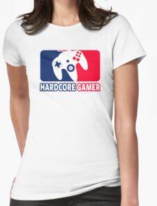 Hardcore Gamer Womens Fitted T-Shirt