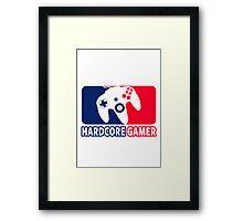 Hardcore Gamer Framed Print