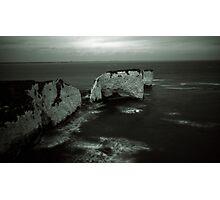 Old Harry Rocks Photographic Print