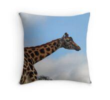 Gentle giant - Rothschild Giraffe  Throw Pillow