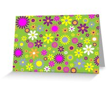 Flower Whimsy Greeting Card
