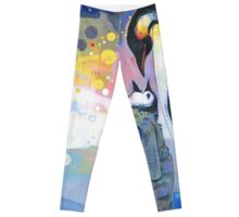 Emperor penguins Leggings