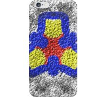 Abstract multicolored texture pattern iPhone Case/Skin