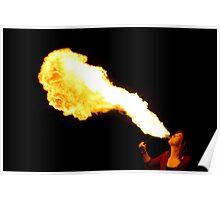 Flamethrower Poster
