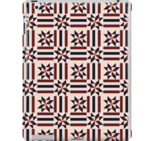 Patriotic pattern abstract iPad Case/Skin