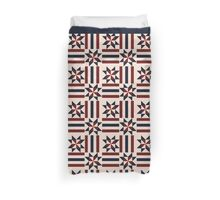 Patriotic pattern abstract Duvet Cover
