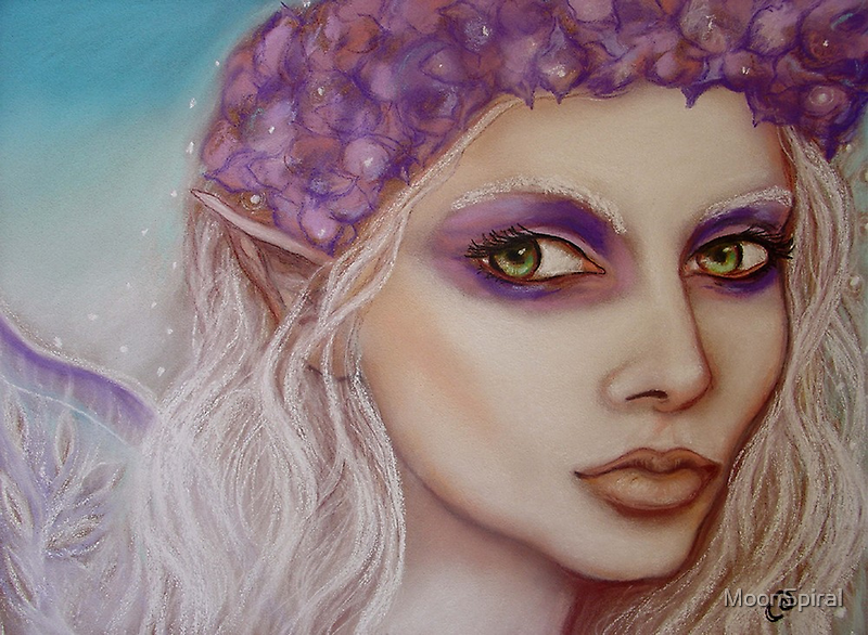 Hydrangea Faerie by MoonSpiral