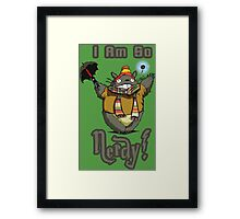 I am so NERDY! Framed Print
