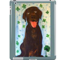 Chocolate Lab iPad Case/Skin